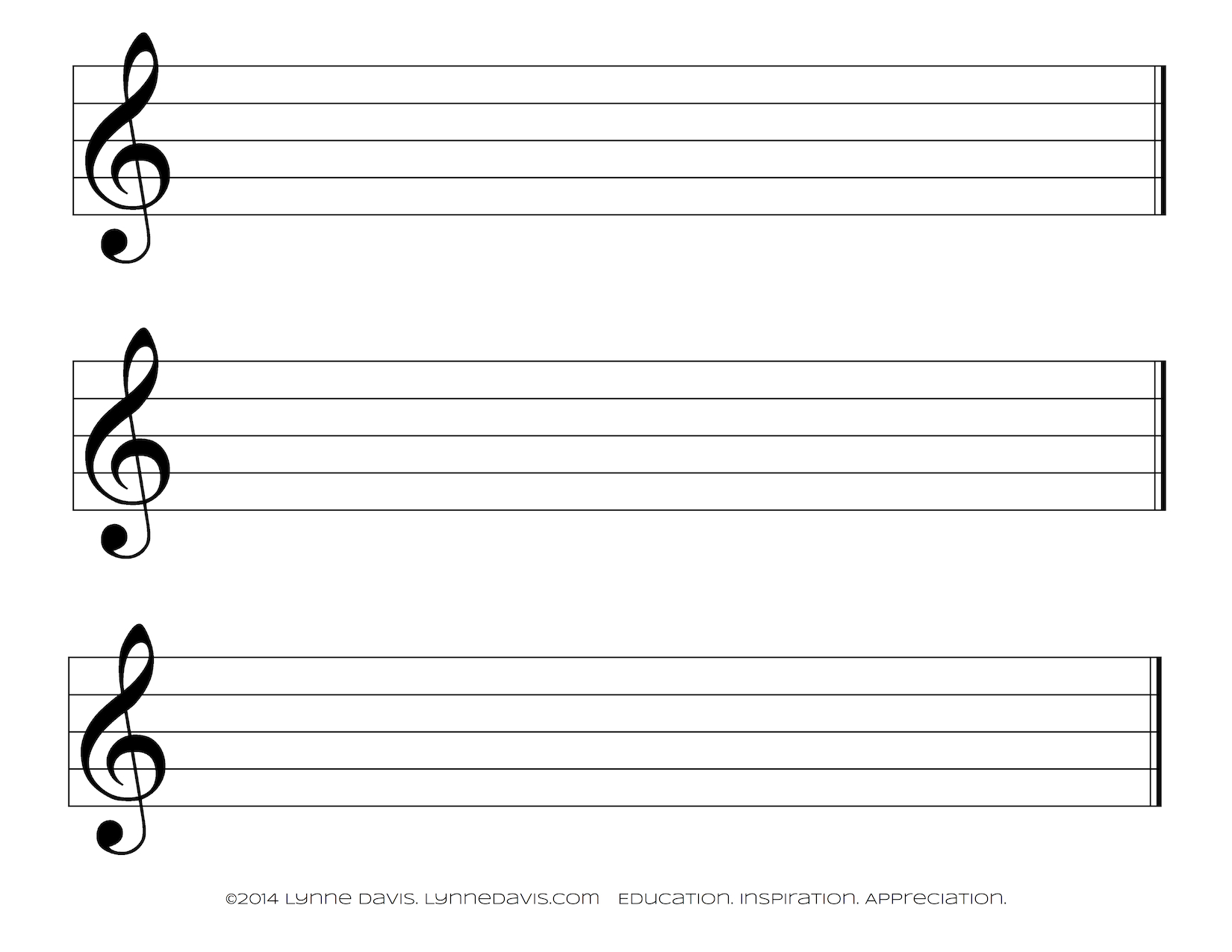 Music Staff Paper Template Music Staff Paper 100 Free Download for ...